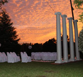 Sunset Weddings near Raleigh, NC