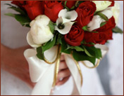 valentines day wedding at white dove chapel